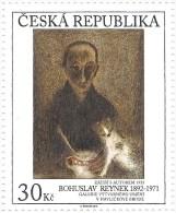 ** 793 Czech Republic Bohuslav Reynek: Still Life With The Author 2013 - Domestic Cats