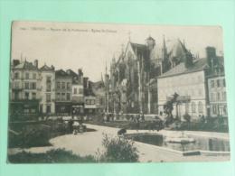 TROYES - Square De La Préfecture, Eglise ST URBAIN - Troyes