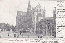Haarlem - Groote Markt (postzegels) - Haarlem