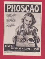 Carte Postale Publicitaire //  Phoscao - Advertising