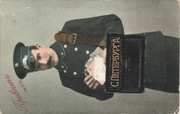 Russia St. Petersburg Postman With His Bag, Sent 1912 Lembolovo SPB To Lahti Finland, Taxed As A Letter (l112) - Russia