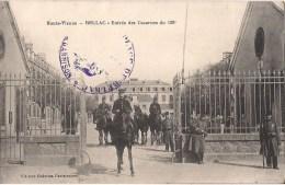 BELLAC ENTREE DES CASERNES DU 138 EME BELLE ANIMATION - Bellac