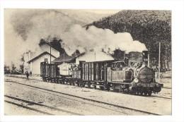 """9894 -  Réseau Du Midi Un Train De Marchandise Remorqué Par Une Locomotive """"Engerth"""""""