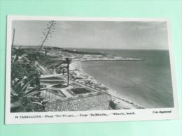 TARRAGONA - Playa Del MILAGRO - Tarragona