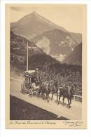 9905 -   La Poste Des Ormonts Et Le Chaussy Diligence - VD Vaud