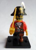 Lego Minifigures S�rie 8 Mini-figurine CAPITAINE PIRATE