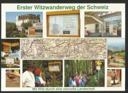WITZWANDERWEG Heiden Walzenhausen 8 Km. Appenzeller-Vorderland - AR Appenzell Outer-Rhodes