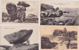 14 / 7 / 257  -   6 CPA  &  5  CPSM  DE  TRÉGASTEL - Tts Scanées - Cartes Postales