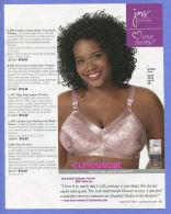 PUBLICITES USA MAGAZINE ADVERTISEMENT RECLAME WERBUNG REKLAME PUBBLICITA PUBLICIDAD For LINGERIE BRAS BH - Publicités