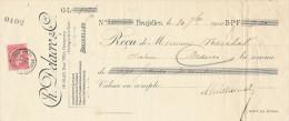 BELGIQUE - Document Financier Via Poste Belge 1904 - Accessoires De Pharmacie , Chirurgie Delacre à BRUXELLES  -- VV428 - Pharmacy