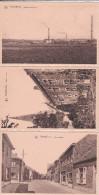 TESSENDERLO-LOTJE-3 KAARTEN-FABRIEK+PASTORIE+ DIESTERSESTRAAT-DIEST-UITGAVE-ADELHOF-NIET VERSTUURD-ZIE 2 SCANS-MOOI - Tessenderlo