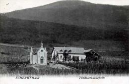67 BAS RHIN SCHERWEILER TUNNELKREUZKAPELLE - Autres Communes