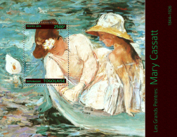 Tg14308b Togo 2014 Painting Mary Cassatt S/s Duck - Impressionisme