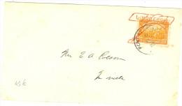 "LBL26B - HAÏTI OBLITERATION ""LINDBERGH"" SUR LETTRE PORT AU PRINCE 6/2/1928 - Haïti"