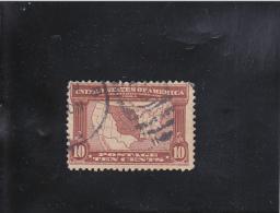 CARTE 10C BRUN-ROUGE OBLITéRé  N° 163  YVERT ET TELLIER 1904 - Stati Uniti