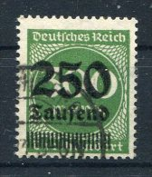 D. Reich Michel-Nr. 293 Gestempelt - Geprüft - Gebraucht