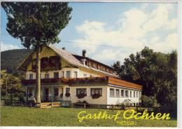 HITTISAU - Gasthof OCHSEN     Ca. 1980 - Bregenzerwaldorte