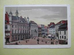 NEUSS. L'Hôtel De Ville Et La Place Du Marché. - Neuss
