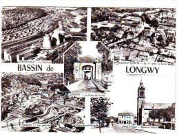 54. BASSIN DE LONGWY  . MULTIVUES . PORTE DE FRANCE. MONT SAINT MARTIN LA BANNIE. LONGLAVILLE . HERSANGE LA CENTRALE - Longwy
