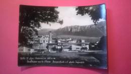 Villa D' Agri (Potenza) - Panorama con la chiesa Parrocchiale e l' Asilo infantile