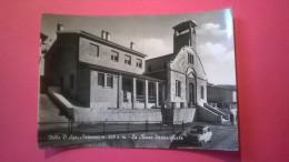 Villa D� Agri (Potenza) - Panorama con la chiesa Parrocchiale