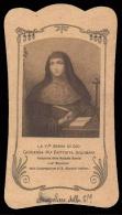 """Venerabile Giovanna Maria Battista Solimani - (primo Novecento) - """"Riproduzione"""" - Santini"""