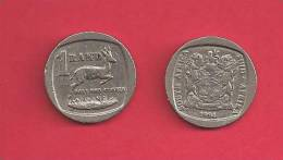 SOUTH AFRICA  1994 Nicely Used 1 Rand Coin - Zuid-Afrika