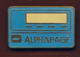 """"""" ALPHAPAGE """"    Bc Pg8 - Telecom De Francia"""