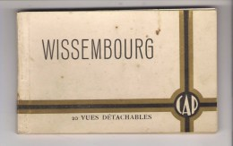 67 - WISSEMBOURG - Carnet De 20 Vues. Complet. Edition Paul GROSS - Wissembourg