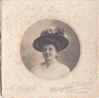 Photographie - Le Pouliguen 44 Photographe  A. Fod�r� - Portrait de Femme Chapeau