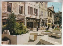 COMMERCE : RUES PIETONNES - BOURG EN BRESSE 01 : Zone Pietonne Rue Edgar Quinet - CPSM CPM 1986 - Ain - Trade