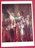 Ansichtskarte Foto Postkarte Frankreich Die Krönung Napoleos - Politische Und Militärische Männer