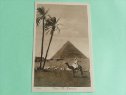 LE CAIRE - The Pyramide - Kairo