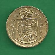 = ROMANIA - 5 LEI  - 1930 -   # 93 = - Rumania