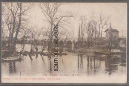 78--POISSY La Seine Le Pont - Poissy