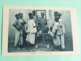 GABON - La Leçon De Calcul - Gabon
