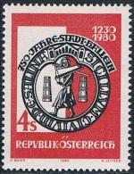 Autriche - 750e Anniversaire De La Ville De Hallein 1466 ** - 1971-80 Neufs