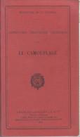 FASCICULE : INSTRUCTION PROVISOIRE TECHNIQUE SUR LE CAMOUFLAGE
