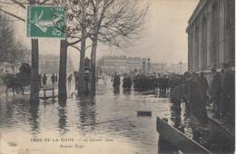 75 PARIS  CRUE DE LA SEINE  JANVIER 1910   AVENUE RAPP - Inondations De 1910
