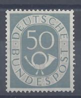 ALLEMAGNE - REPUBLIQUE FEDERALE - 1951-52 -  COR POSTAL  -  N° 20 -   X   -  TB - - Ongebruikt