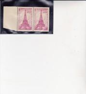 FRANCE -PAIRE NEUVE XX BORD DE FEUILLE N°429 -CENTENAIRE TOUR EIFFEL COTE //34 € - Non Classés