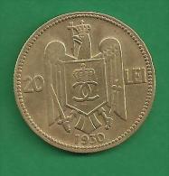 = ROMANIA - 20 LEI  - 1930 -   # 97 = - Rumänien