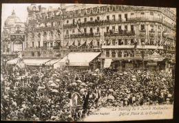 MONTPELLIER (34) Le Meeting Du 9 Juin A Montpellier. Defilé Place De La Comedie (2) - Montpellier