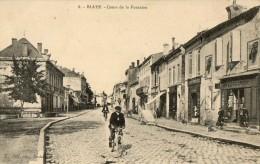 BLAYE - COURS DE LA FONTAINE  WW1 HOPITAL ST-NICOLAS - Blaye