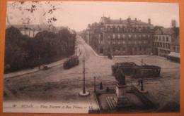 Sedan Place Turenne Et Rue Thiers - Sedan