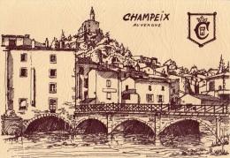 CHAMPEIX IMPRIMEES EN RERIGRAPHIE - France