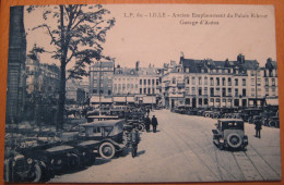 Lille Ancien Emplacement Du Palais Rihour Garage D'Autos - Lille