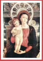 CARTOLINA NV ITALIA - ANDREA MANTEGNA - La Pala Di San Zeno - Verona - Particolare - Madonna Col Bambino - 10 X 15 - Pittura & Quadri