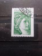 FRANCE Type Sabine De Gandon N°2062 Non Dentelé Verticalement Oblitéré - 1977-81 Sabine (Gandon)