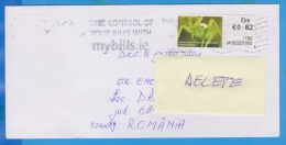 STAMPS ON  COVER  NICE FRANKING IRELAND EIRE GREEN SPIDER INSECTS - Covers & Documents